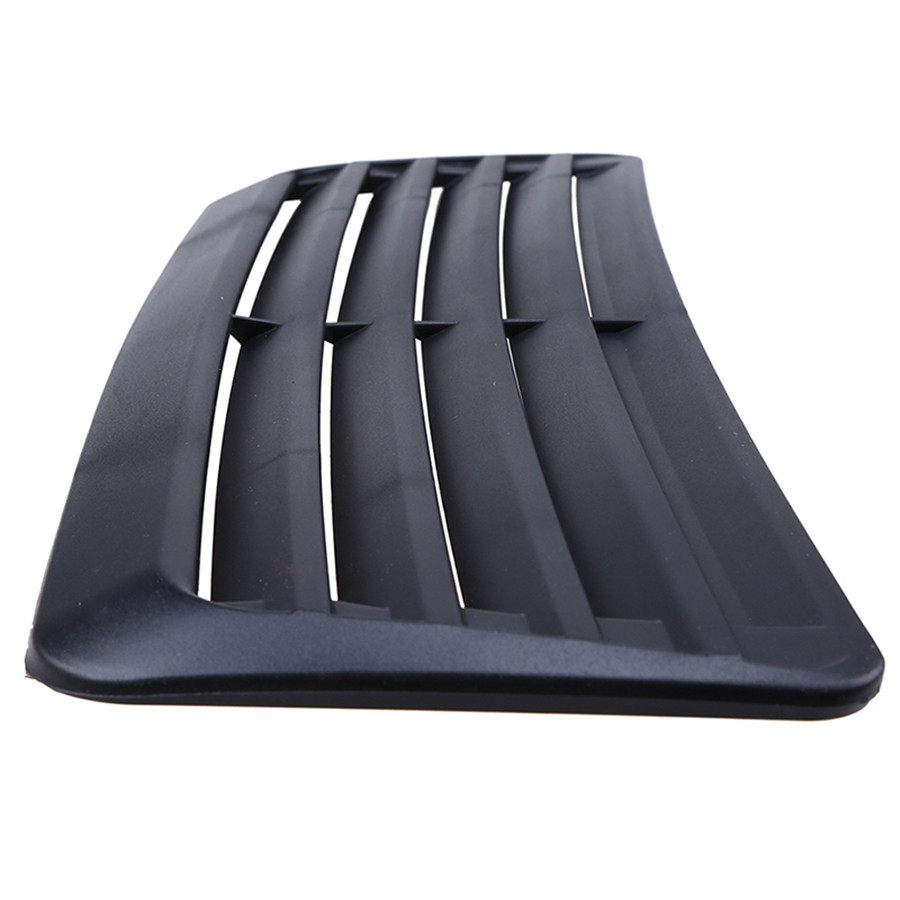 Universal Car Decorative Air Flow Intake Scoop Turbo Bonnet Vent Cover Hood Grills Stickers ABS Free Shipping