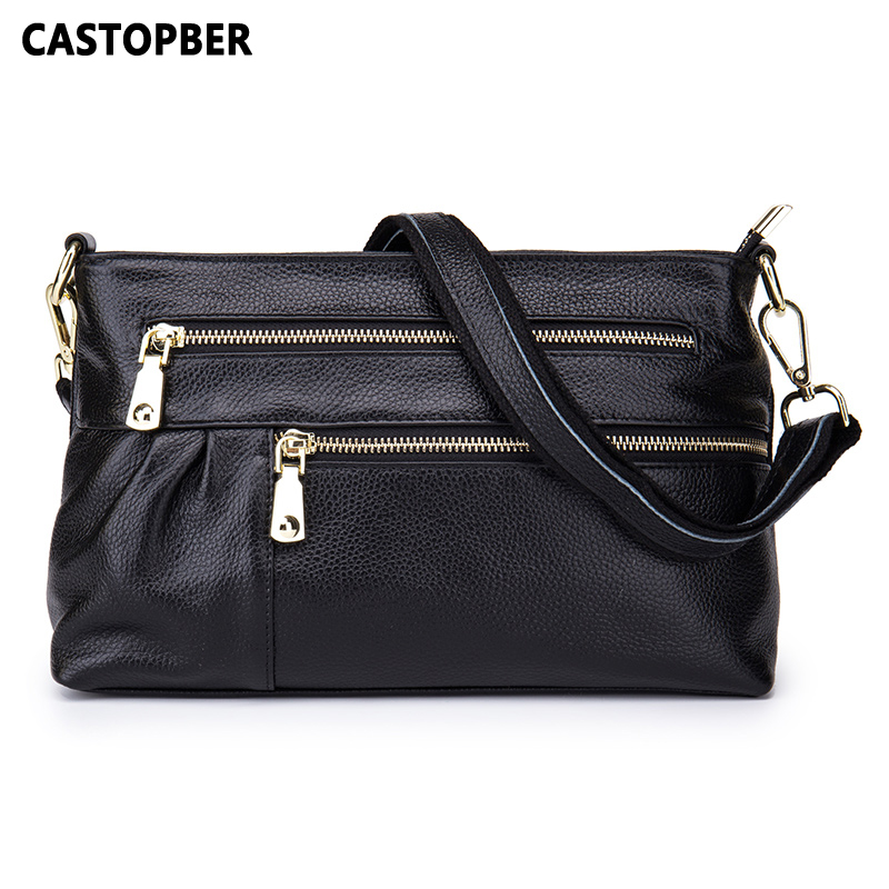 Fashion Designer 2017 New Arrival Bags Handbags Women Famous Brands Genuine Leather Casual Bag Cowhide Crossbody Shoulder