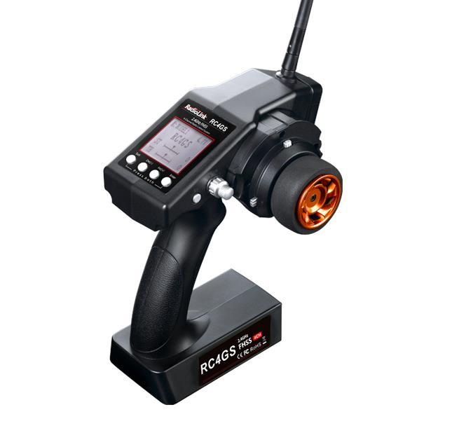 Radiolink RC4GS 2.4GHz FHSS 4 Channel Radio Control System New High voltage Version Remote Control
