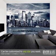 De nueva York murales grandes de televisión de fondo de papel tapiz de fondo de pantalla de la sala de estar sofá