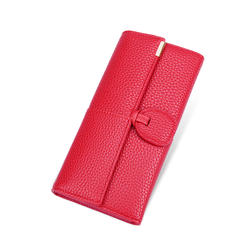 AOEO Big Capacity Women Wallets Clutch Female Fashion ID Card Holders Cell Phone Bag Cash Leather Wallet Ladies purses for Girls women wallet women s purses genuine leather clutch with large capacity for credit card cash fashion design female purses