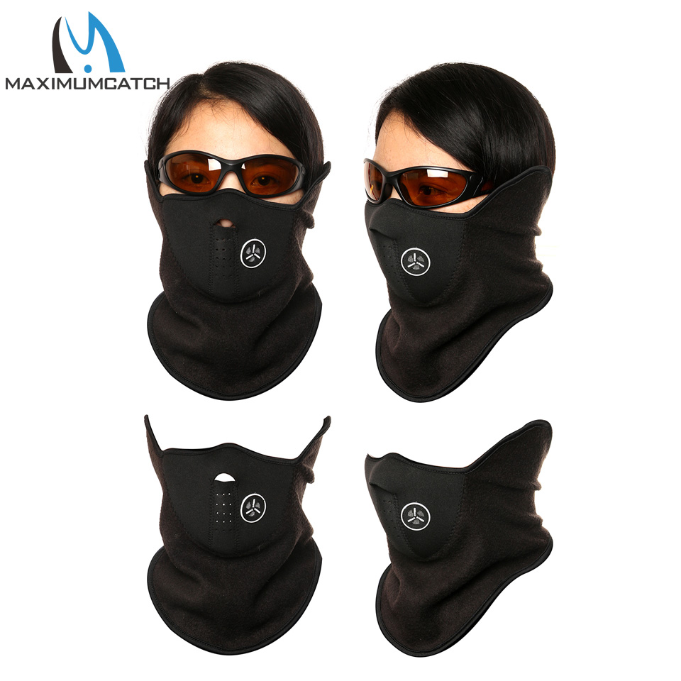 Maximumcatch Half Face Cover Facepiece Ski Snowboard Motorcycle Bicycle Neck Warmer Fishing Warm Winter Face