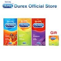 Buy 3 Get 1 Gift Durex Condoms Ultra Thin Super Sensitive Adult Condom Safe Adult Sex