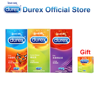 Buy 3 Get 1 Gift Durex Condoms Ultra Thin Super Sensitive Adult Condom Safe Adult Sex