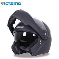 VicTsing Motorcycle Helmet Full Face Motorbike Bike Racing Crash Helmet with Sun Visor Double Lenses Capacete Motocross Off Road