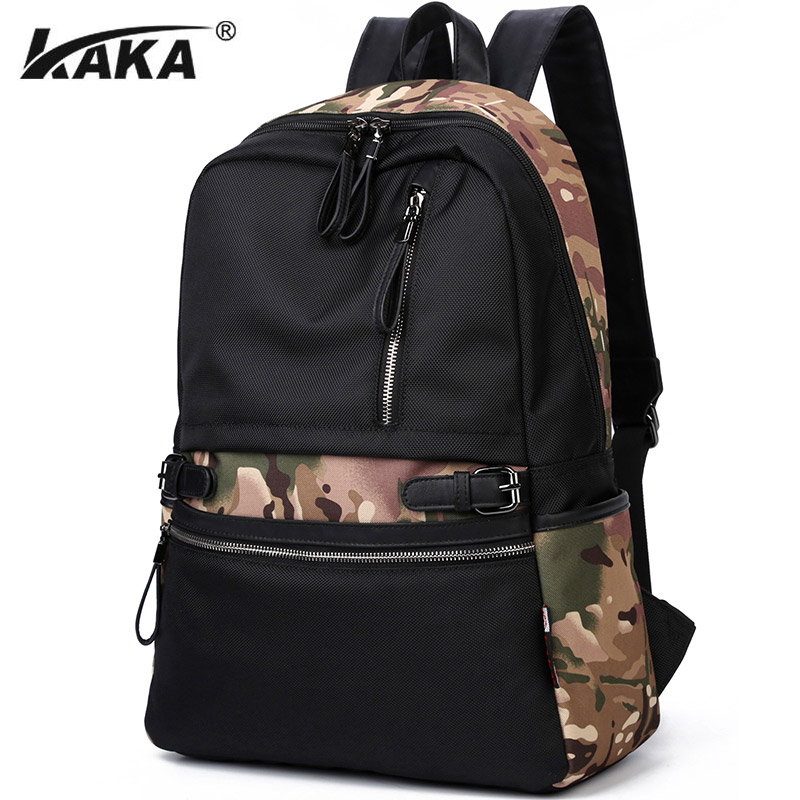KAKA Brand Fashion Oxford Men Backpack Large Capacity Laptop Backpacks Bag Casual School Backpack for Teenages мышь zalman zm m201r usb