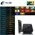 Europa Royal Italiano Francés Árabe IPTV IPTV CUADRO de TV Android MX S805 Quad Core Smart TV 1G/8G XBMC/Kodi Miracast Android TV Box