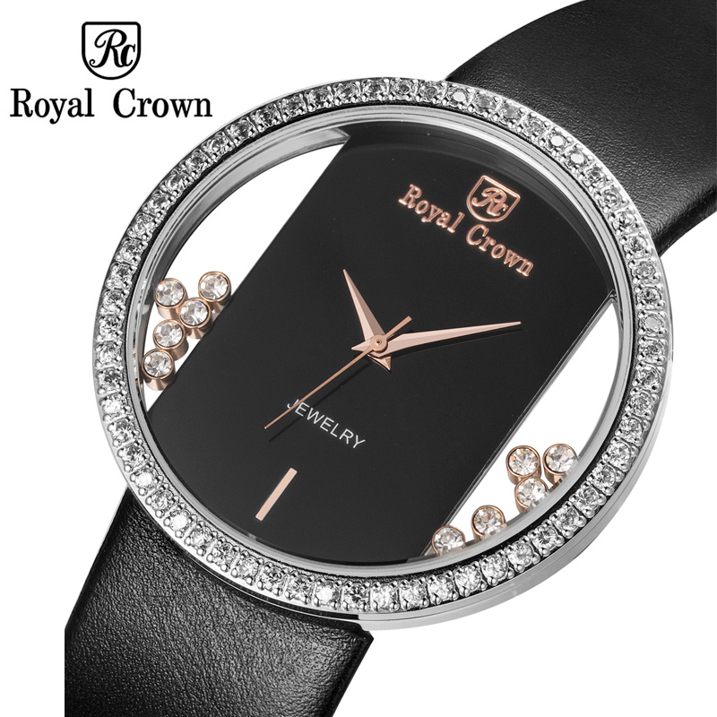Luxury Jewelry Lady Women's Watch Fashion Big Hours Dress Colorful Bracelet Rhinestone Clock Girl Birthday Gift Royal Crown Box total english intermediate workbook cd rom