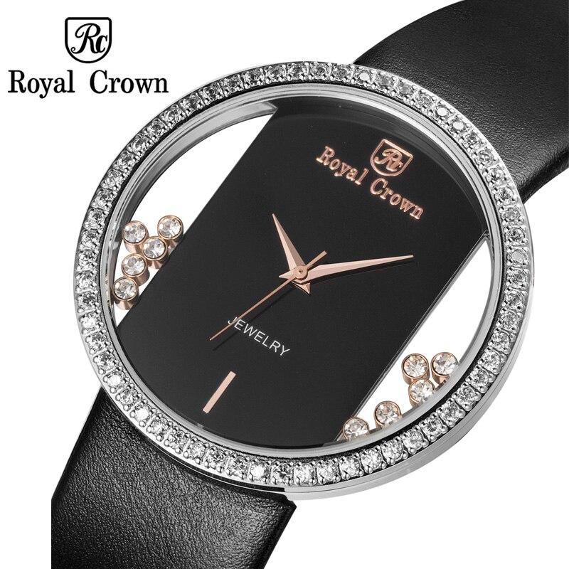 Luxury Jewelry Lady Women's Watch Fashion Big Hours Dress Co