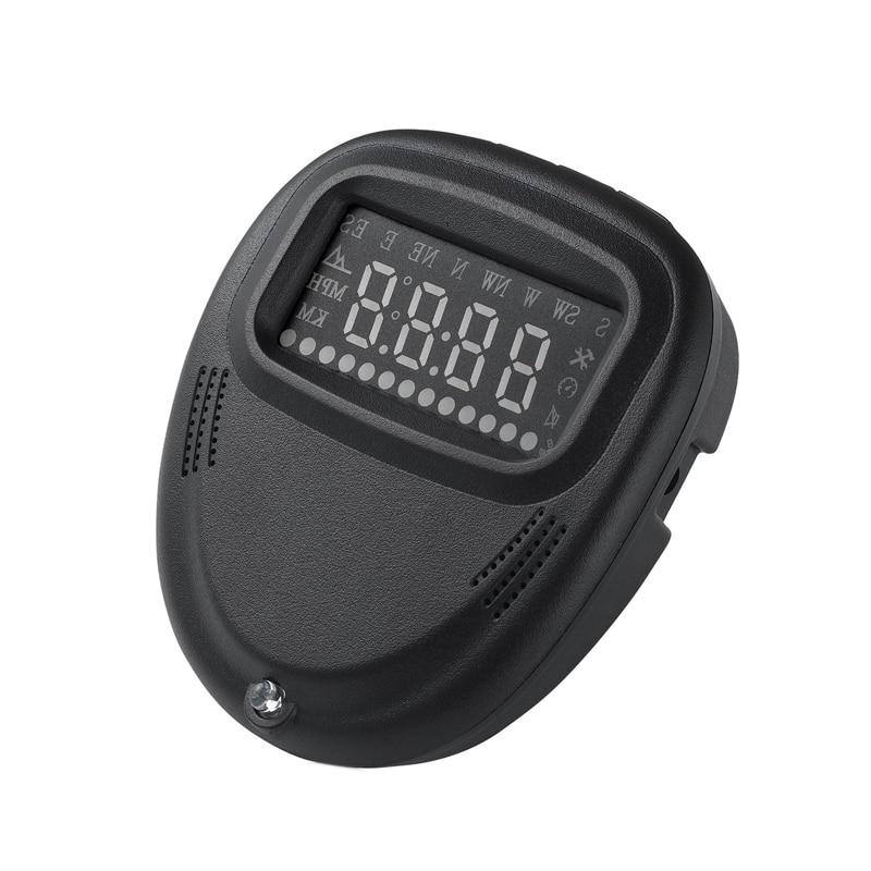 2 Universal Car GPS HUD Head Up Display Speedometer KMH MPH Smart Display Function Over Speed alarm