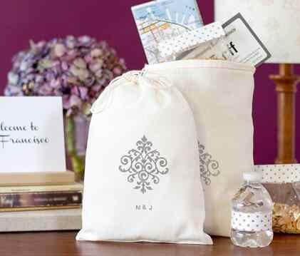 Персонализированный хлопковый свадебный набор от похмелья подарок Добро