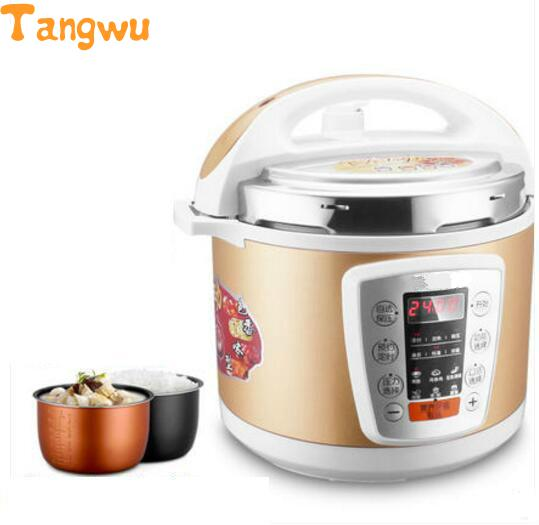 Free shipping double bladder intelligent rice 4L electric Electric Pressure Cookers free shipping split hot pot household multipurpose 4l multi cookers