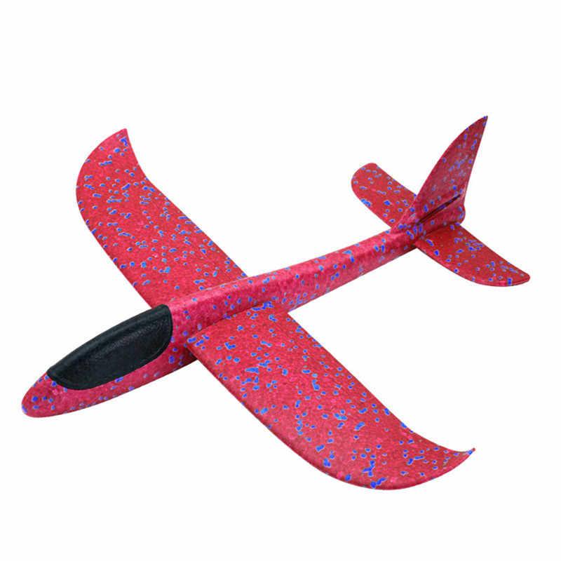 ใหม่ของเล่นเด็กมือโยนเครื่องบินกลางแจ้งเครื่องร่อนเครื่องบินเครื่องบินรุ่นยอดนิยมโฟม