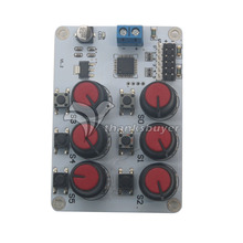 6 Channel Controller Driver Rotary Knob Servo Motor USB UART  Board For MCU Arduino Robot