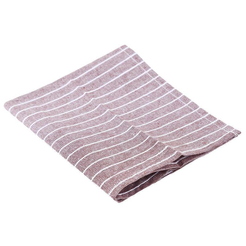 40x31 เซนติเมตรขายร้อนตารางผ้าเช็ดปาก Placemat ความร้อนฉนวนกันความร้อนผ้าเช็ดปากผ้าตาราง Placemats พื้นหลังผ้าฝ้ายผ้าลินินผ้า