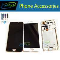 Black Color High Quality For MEIZU M5 5 2inch LCD Display And Touch Screen Digitizer With