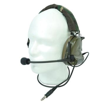 Z 전술 전술 군사 장난감 총 육군 마이크 헤드셋 액세서리 사냥 캠핑 Comtac II 노이즈 감소 헤드셋