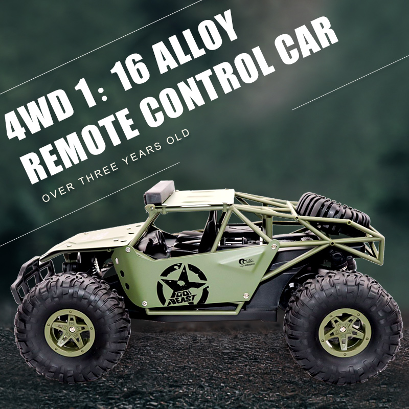1:16 Rc Car Off Road  4WD Buggy 2.4G Remote Control Cars 2019 High speed Trucks Toys for Children Gifts|RC Cars|   - title=