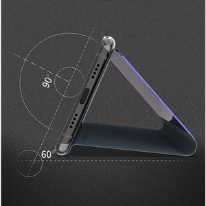 Image 5 - Mirror Flip Stand Case For Xiaomi Redmi 6 6A 6 Pro 4A 4X 5 Plus S2 Y1 Lite Smart Clear View Cover For Redmi Note 3 4 4X 5A 5 Pro