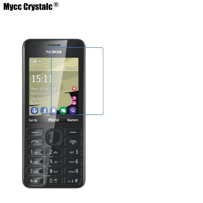 Explosieveilige Nano Zachte Glas Voor Nokia 206 Screen Protector Beschermfolie Verschillende Stijlen