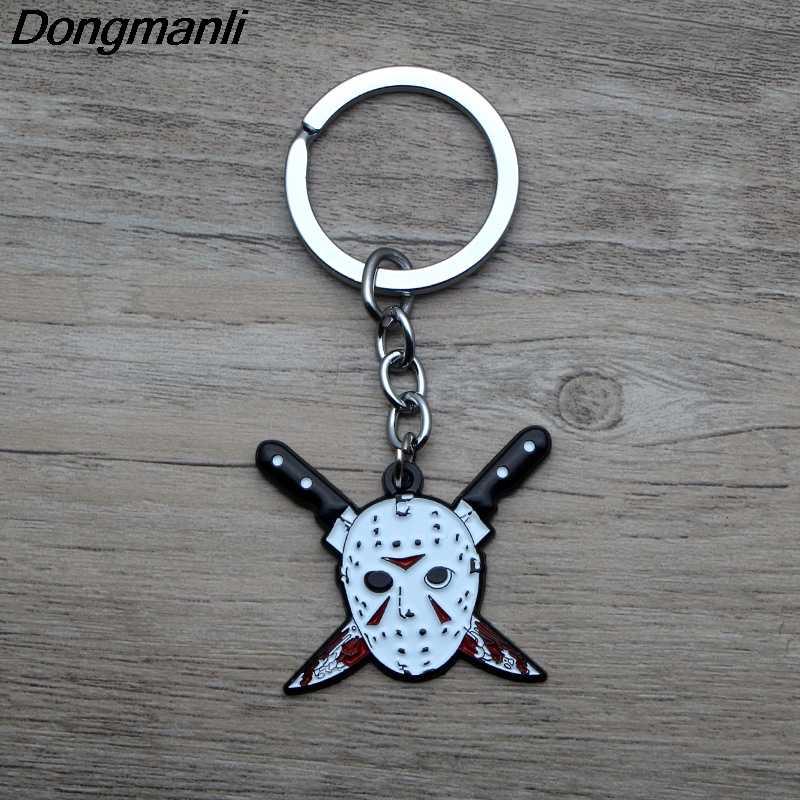 L3719 moda piątek 13th emalia wisiorek metalowy naszyjnik dla fanów filmu fajne prezenty mężczyzn akcesoria