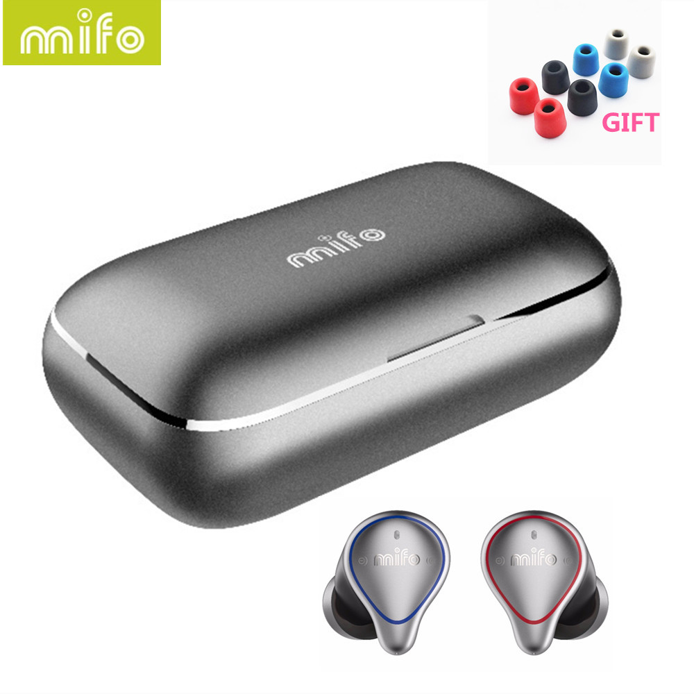 Mifo O5 Bluetooth 5 0 True Wireless Bluetooth Headset ipx7 waterproof Mini HIFI Earbuds Sports In