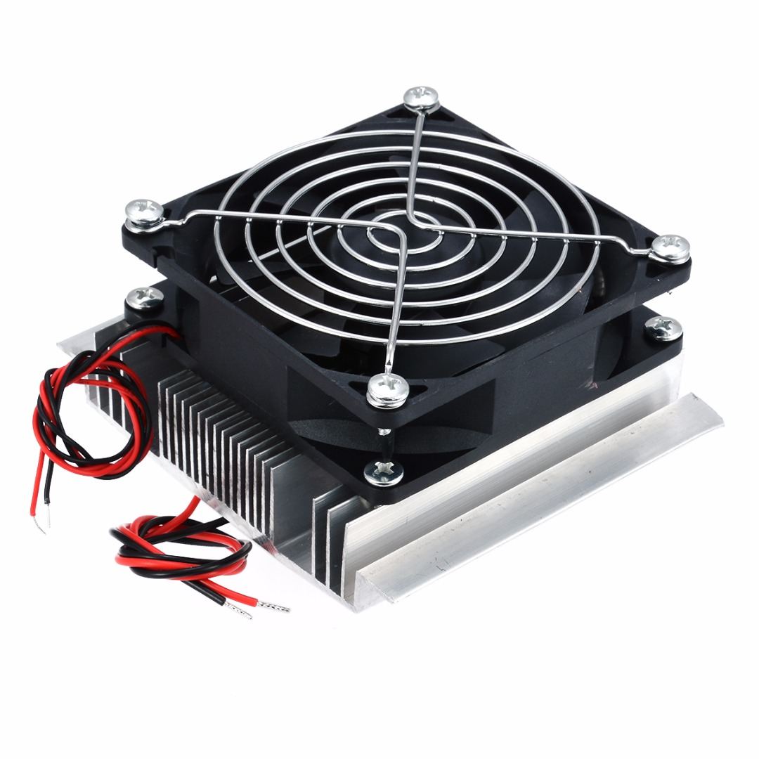 Image 5 - 1pc Thermoelectric Peltier Refrigeration Cooler DC 12V Semiconductor Air Conditioner Cooling System DIY Kit-in Instrument Parts & Accessories from Tools