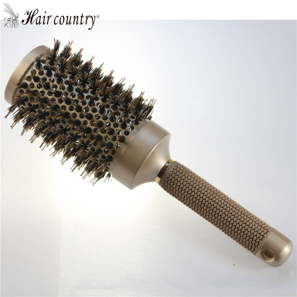 53mm Ceramic Iron Radial Round Comb font b Hair b font Dressing Brush Salon Styling Barrel