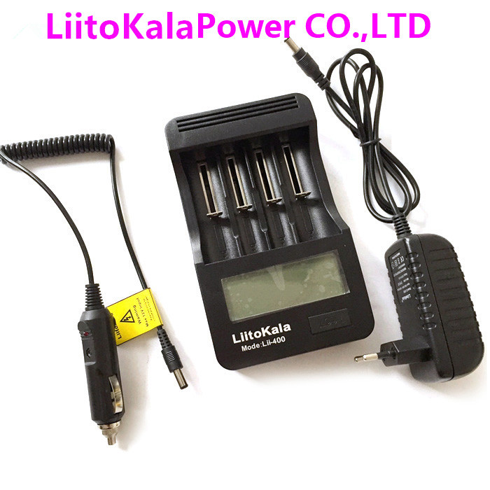 Liitokala lii-400 LED 18650/26650/14500 Battery Charger,Detection of  battery capacity/internal resistance/voltage