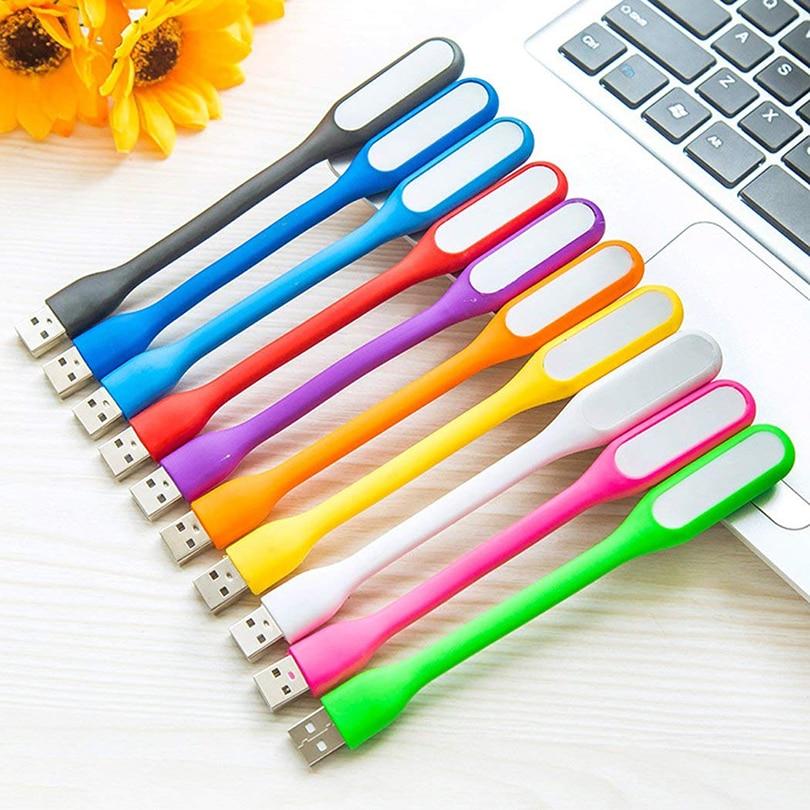 휴대용 5 v 1.2 w led usb 램프 미니 usb 테이블 빛 독서 램프 xiaomi 전원 은행 comupter 노트북에 대 한 눈 조명을 보호