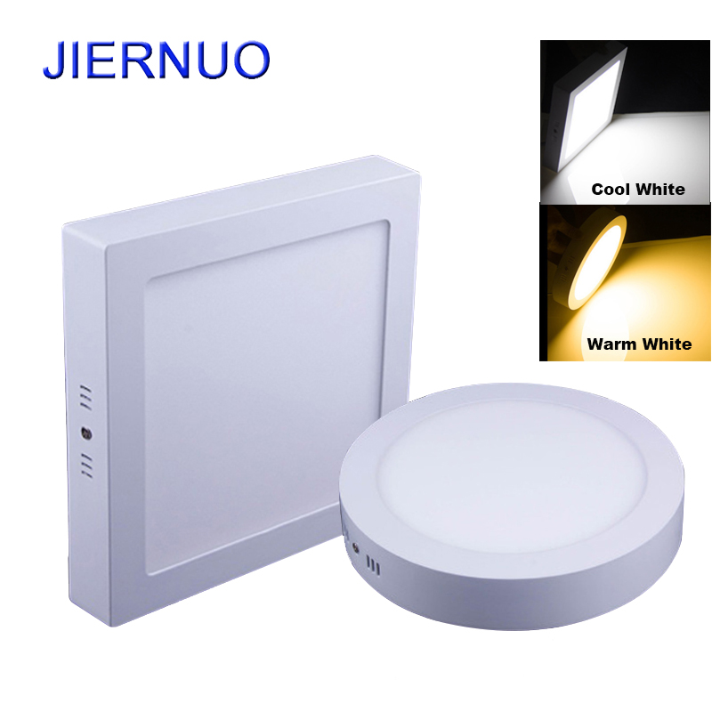 10W/15W/25W Round/Square Led Panel Light Surface Mounted Downlight lighting Led ceiling downlight AC85-265V + Driver AE not cutting 9w 15w 25w round square led panel light surface mounted indoor lighting led ceiling down ac85 265v driver