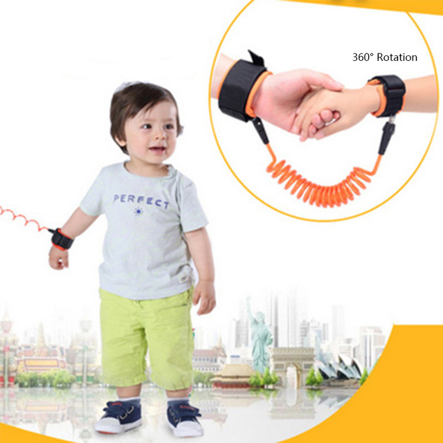 Baby Anti Lost Wrist Link Toddlers Leash Safety Harness for Baby Strap Rope Outdoor Walking Hand Belts Band Anti-lost Wristbands