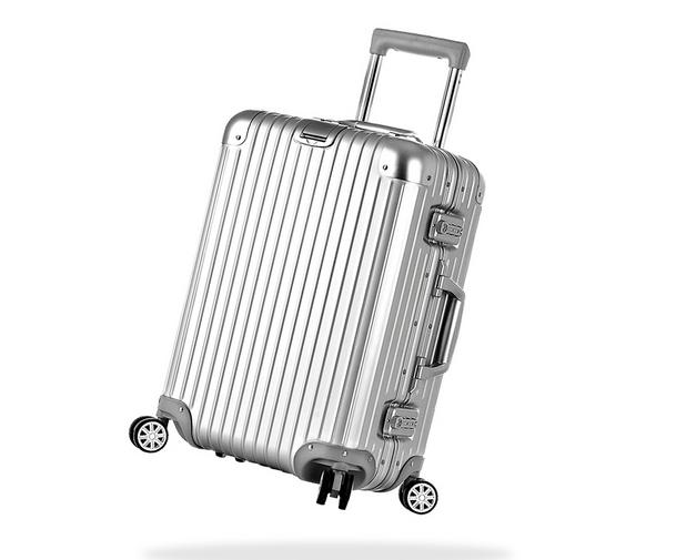Silver Hard Suitcase | Luggage And Suitcases