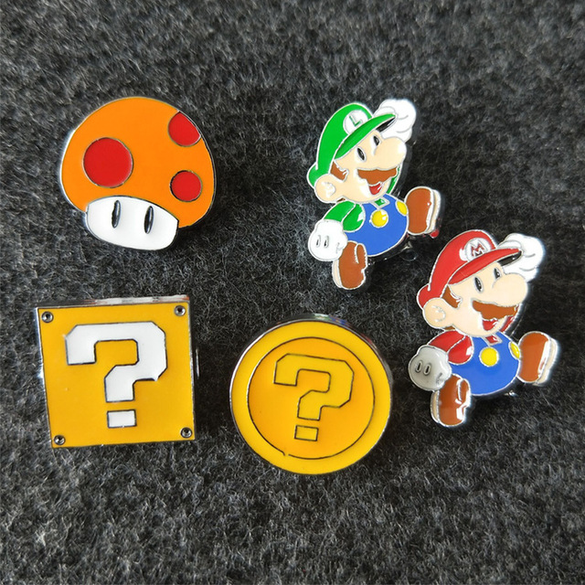 Брошка Супер Марио в ассортименте