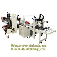 Carton sealer strapping machine production line tape sealing machine