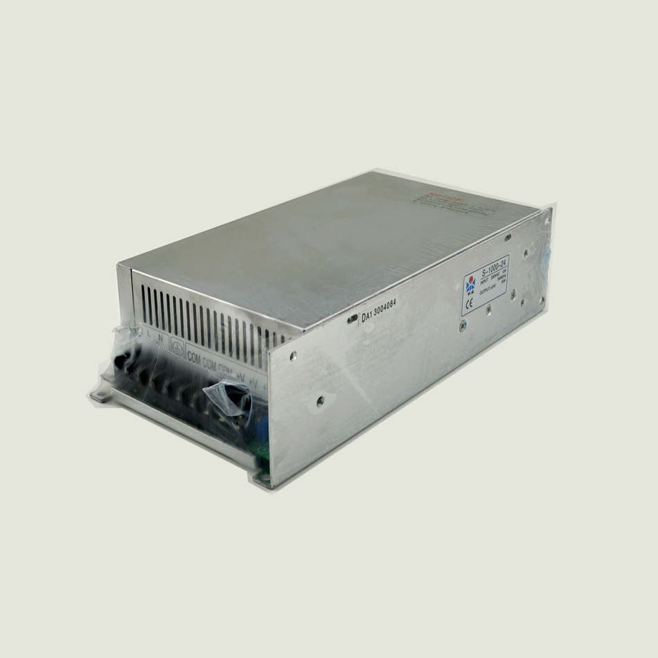 ФОТО ac to dc 1000w 24v 40A S-1000-24 small size low price  ce certification led driver source switching power supply volt