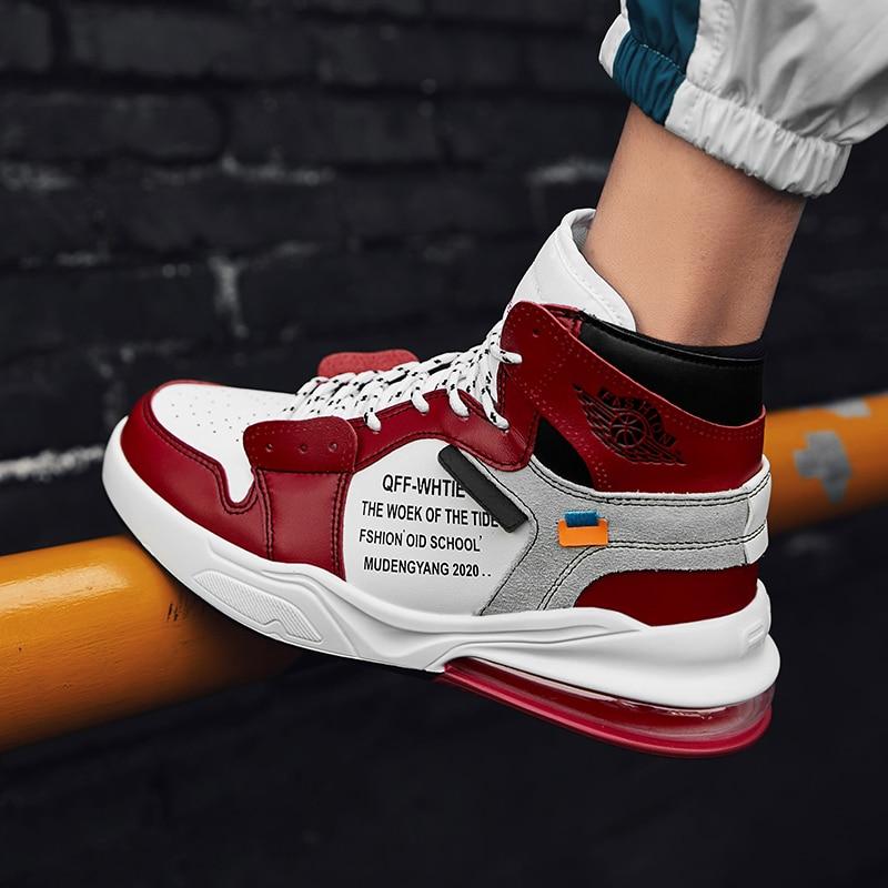 Cuir white Dentelle up Northmarch Fur Pour Sneakers Casual D'hiver 2018 Zapatos Confortable red red black Tenis Fur Hombre Mode Black En De white Chaussures Hommes Fur FwFtqvzR