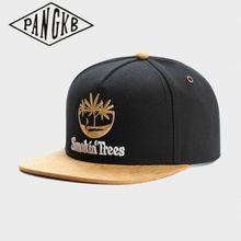 CAP Black Snapback Sun-Baseball-Cap Bone Hat-Spring Casual Women Brand PANGKB Adult