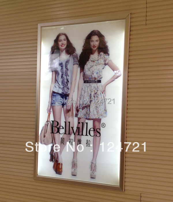 a3 advertising led light box hanging display advertising products wall mounted lightbox
