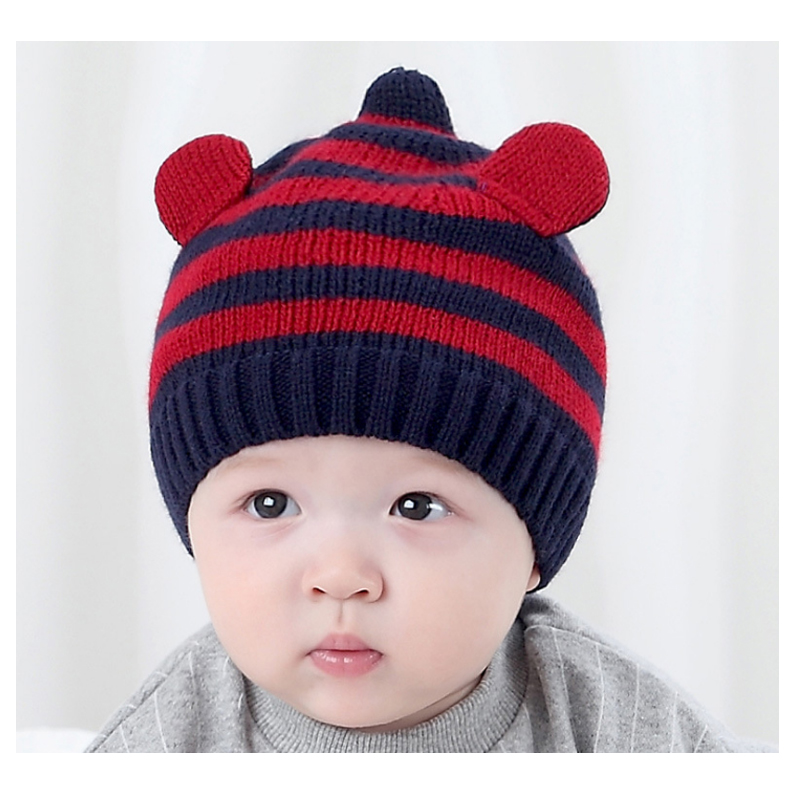 New children Winter ear muff for babies crochet baby hat for Girls Boys Headband Acrylic children Hats costume Knitted baby caps