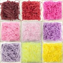 20g/bag Shredded Crinkle Paper Raffia Confetti DIY Dry Straw Gifts Box Filling Material Wedding/Birthday Party Decoration