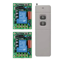 AC 220V 30A Water Pump Control Remote Control Switch System Far Distance Long Range Transmitter With