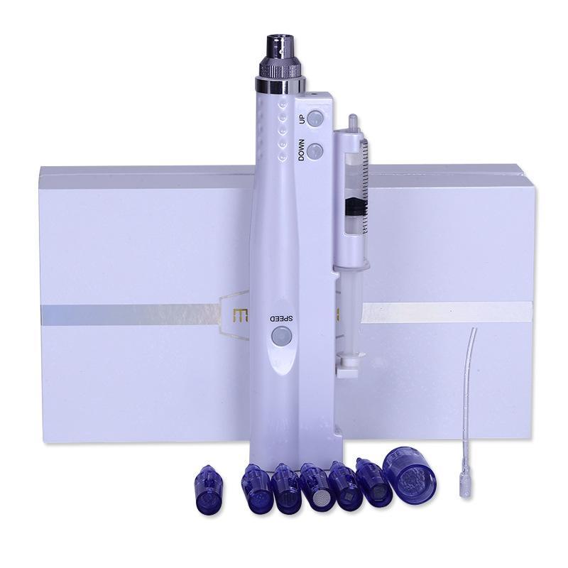 Micro-aiguille électrique Auto mésothérapie pistolet d'injection cristal injecteur Nano aiguille Derma stylo hgshuiguangzhen