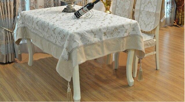 Luxe Moderne Européenne Classique Slip Tissu Nappe Ikea Style
