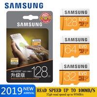 Карта памяти Samsung micro sd 128 Гб 64 Гб SDHC/SDXC ФТ карты sd-карта памяти EVO + micro sd 32 gb C10 UHS TF карты Модуль памяти Transflash карты micro sd