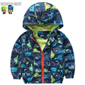 Baby Boy Clothes Kids Coat Children Spring And Autumn Long-Sleeve Outerwear Baby Casual Male Child Cartoon Zoo Outdoor Jacket