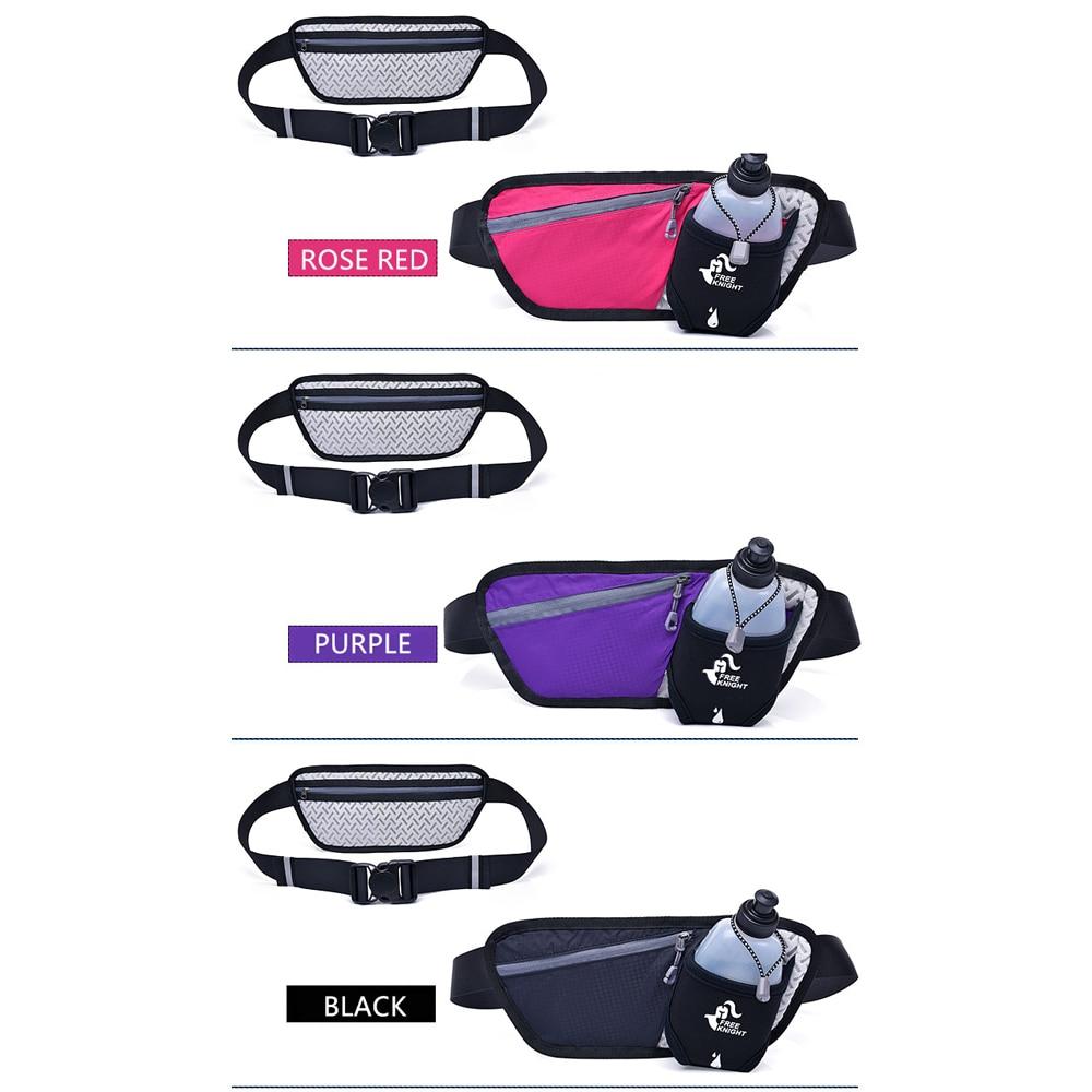 Unisex Running Waist Bag Sport Waist Pack, Waterproof Mobile Phone Holder, Gym Fitness Bag Runnning Belt Bag Sport Accessories