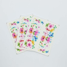 3pcs Water Nail Decal and Sticker Butterfly Slider for Manicure Art Watermark Tips A13