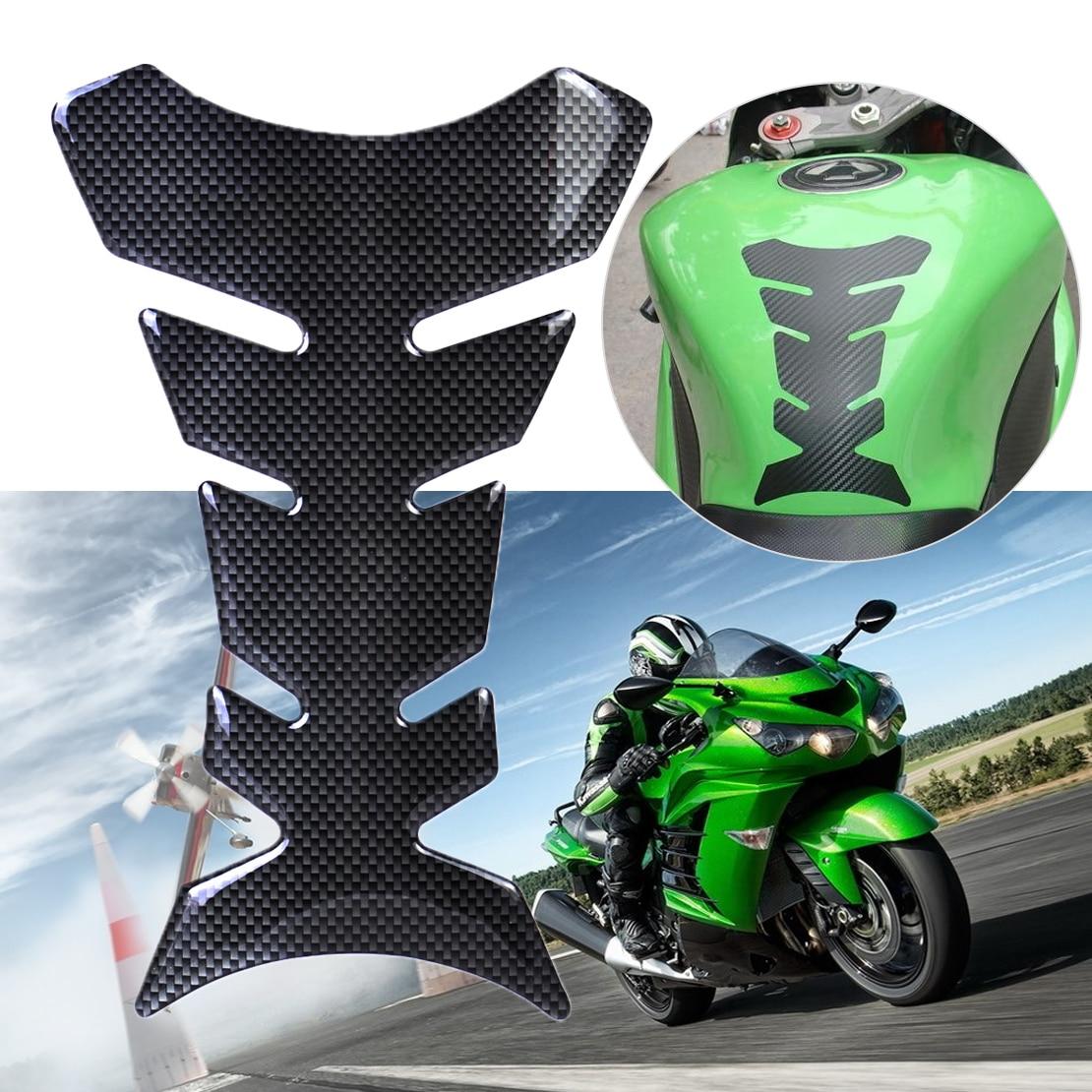 , Motorbike Tank Pad Protector Motorcycle Scratch Pad compatible kawasaki ER-6n v2 18 x 13 cm