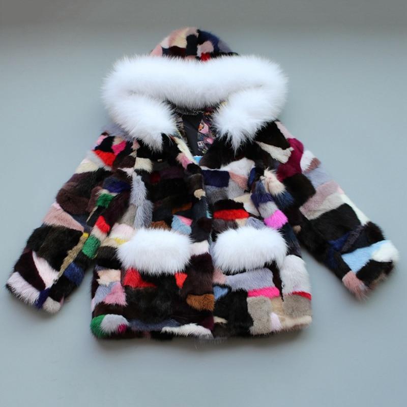 JKP 2018 New Baby Skin Fur Coat Suede Coat Jacket Children Girls Winter Cold Water Jacket Fashion Jacket ZPC-160